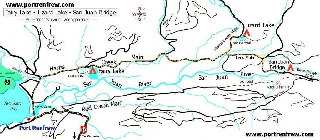 San Juan River Map